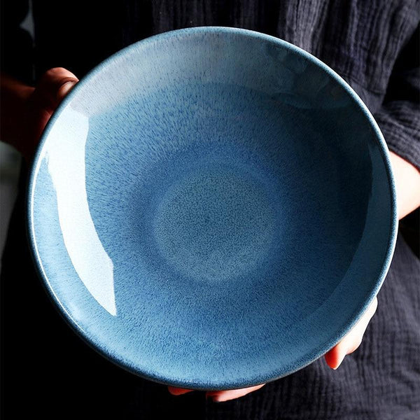 The Sky Glazed Bowl