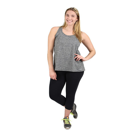 New! - Easy Tank In Heather Gray