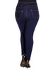 Corset Skinny Jean - Dark Denim