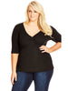 New! - 3/4 Gather Front Top