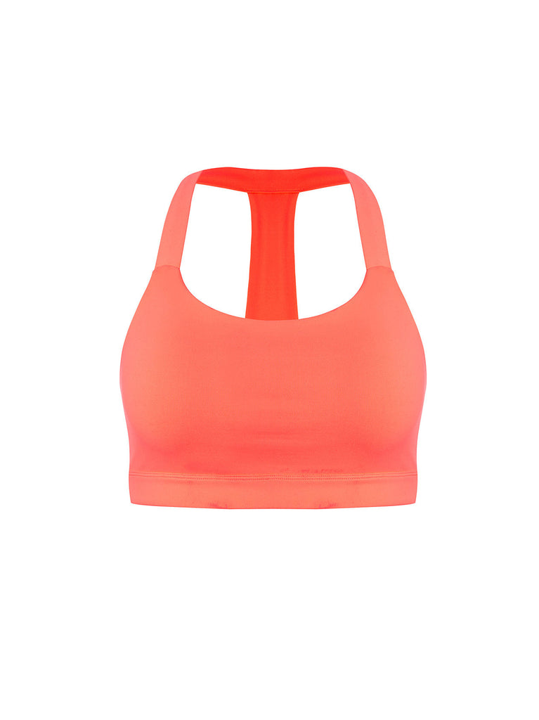 Coloured Sports Crop Top