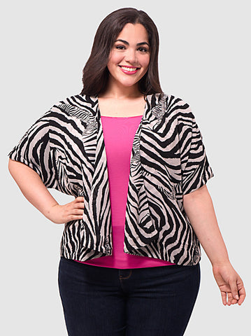 Soft Zebra Jacket