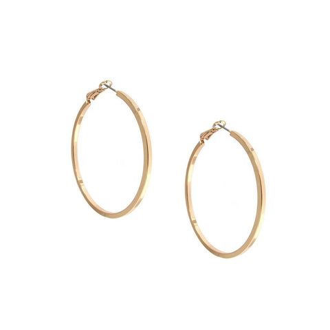 Large Shiny Hoop - Available In More Colors