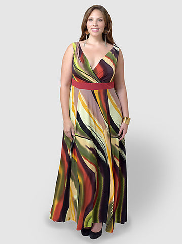 Adeola Maxi Dress- size inclusivity