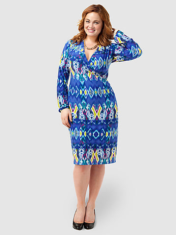 Wrap Dress In Print