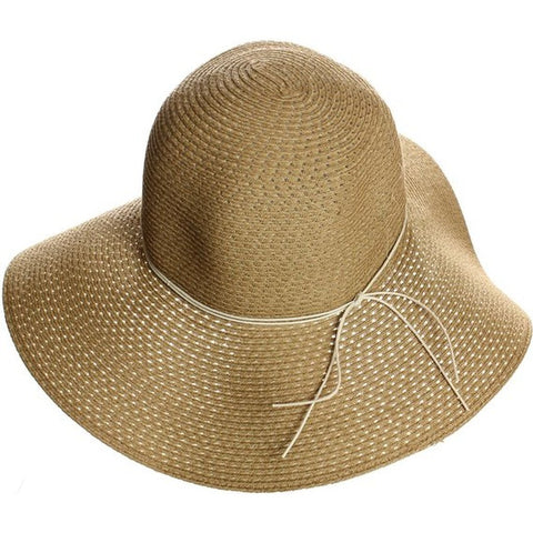 Packable Floppy Wide Brim Brown Sun Hat