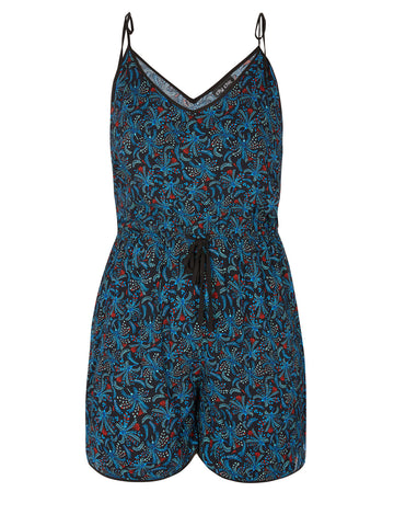 Criss X Tropical Playsuit