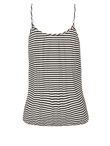 Stripe Bubble Hem Cami