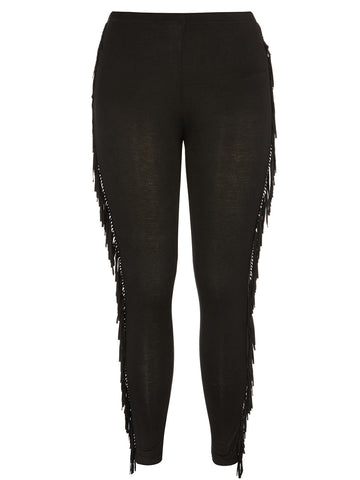 New! - Fringe Legging