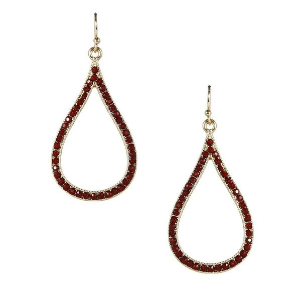 Open Teardrop Earring - Available In More Colors