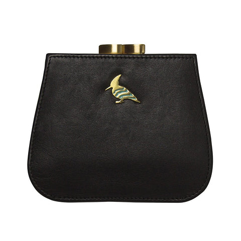 Canary Leather Coin Purse - Nightfall