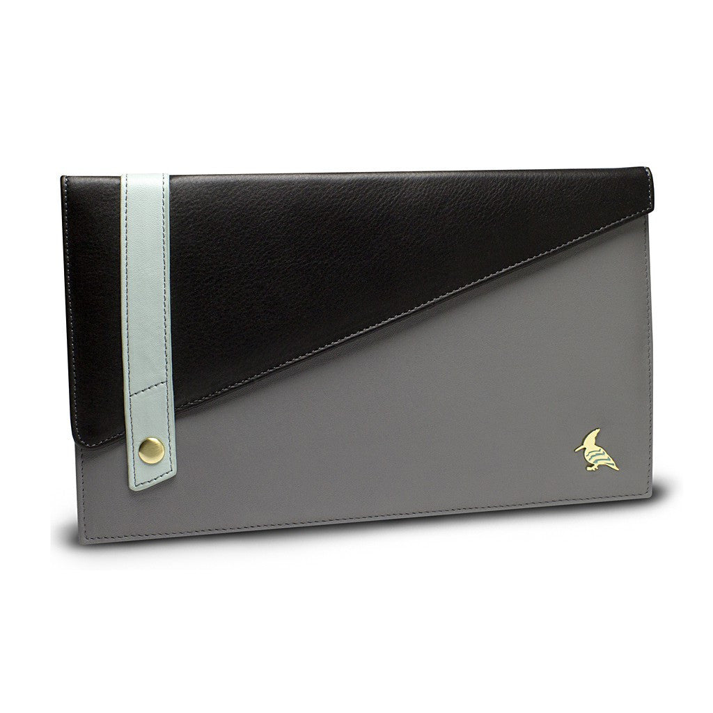 Black Leather Document/Photo Holder - Sparrow