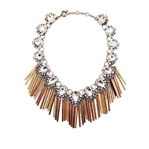 Godiva Statement Necklace
