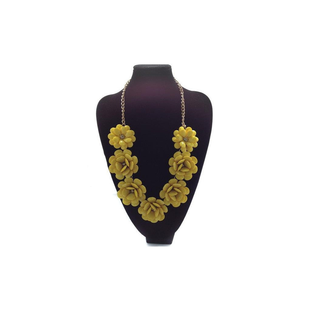 POP Fleur Collar- Yellow