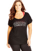 New! - Black Fearless T-Shirt