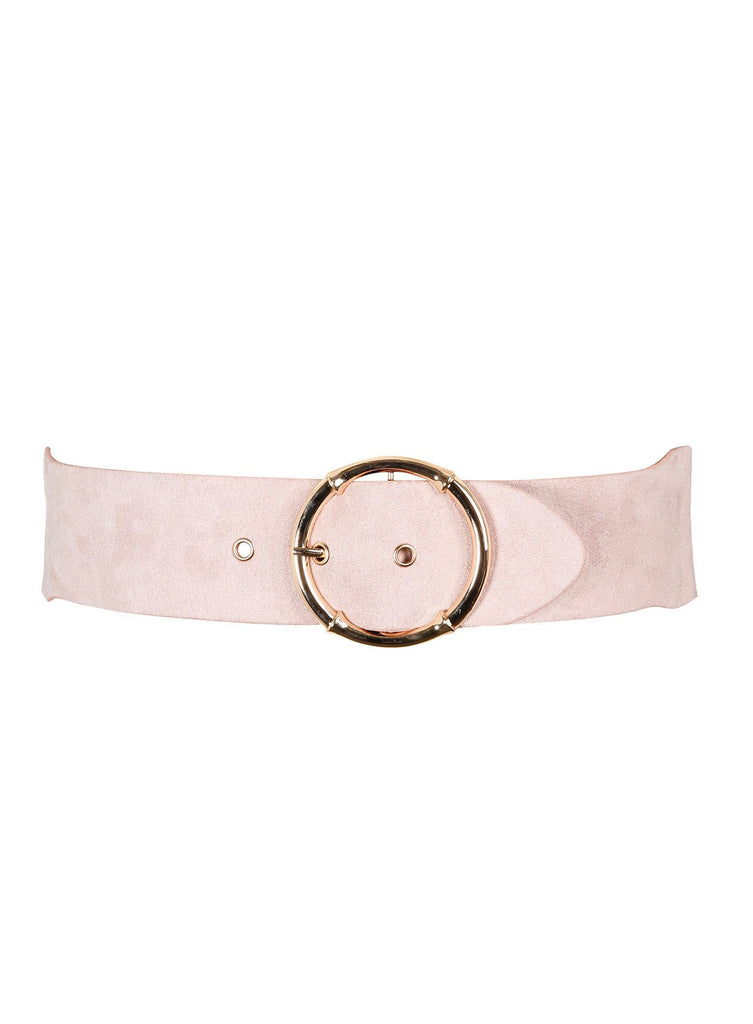 Hoop Sueded Belt