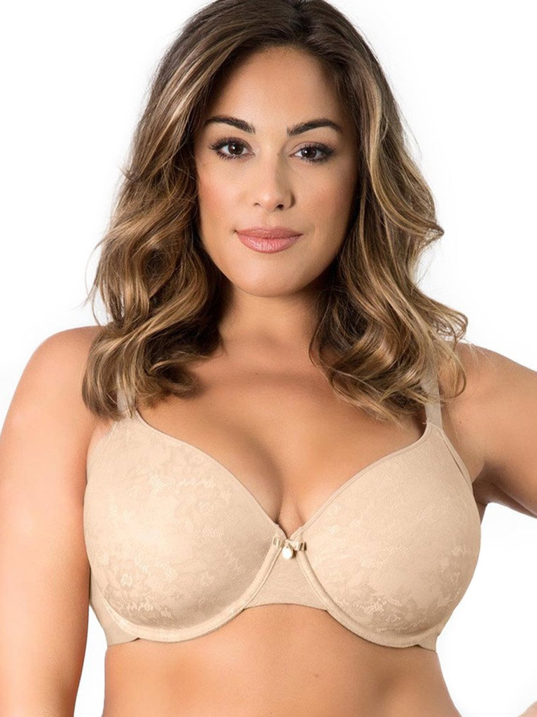 Flawless Lace Smoother Bra In Nude