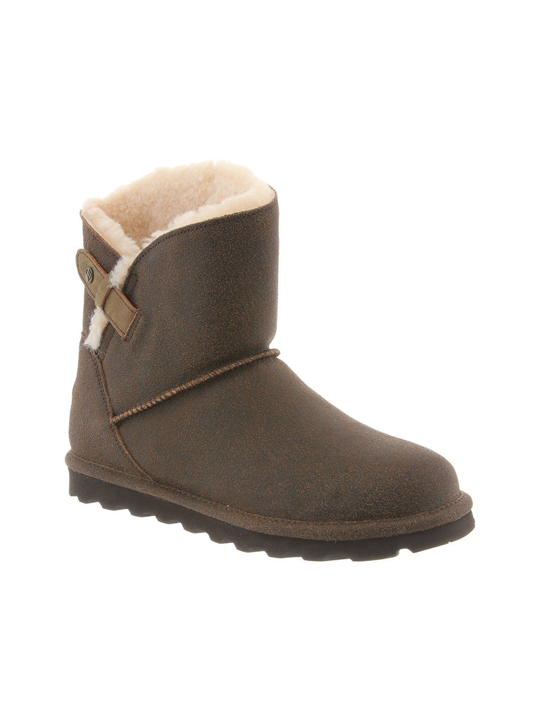 Margaery Boot In Chestnut Distressed
