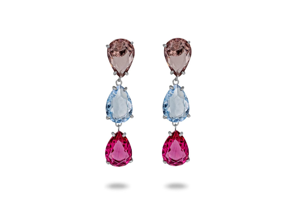 Paradise Crystal Drop Earrings