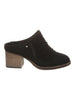 Quartz Mule In Black