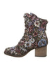 Topaz Boot In Black Print