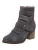 Amethyst Boot In Charcoal