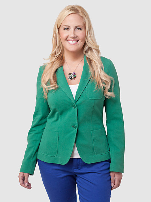Kate Fit Pique Knit Jacket