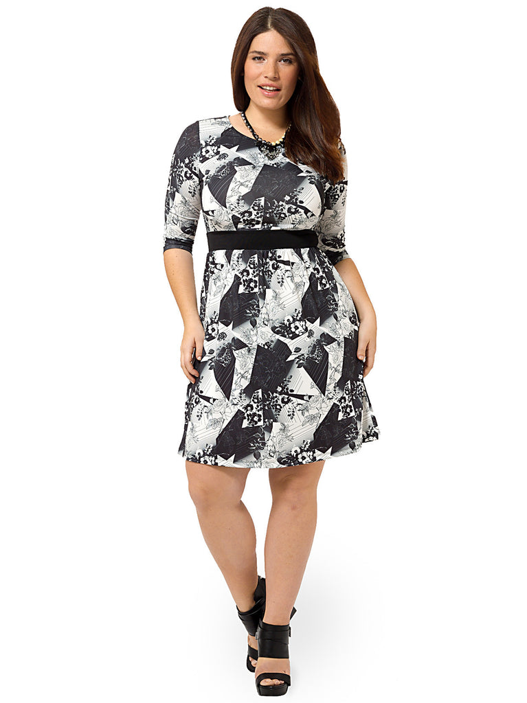Abstract Art Chelsea Dress