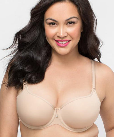 Tulip Smooth Push Up Bra In Nude
