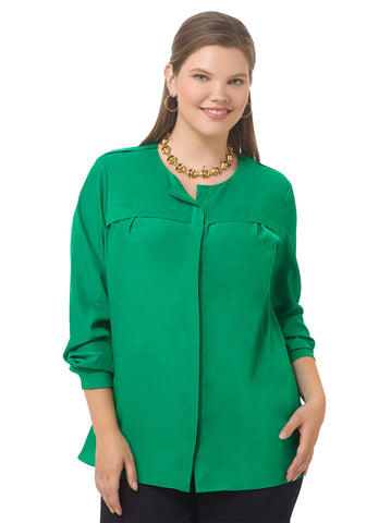 Reese Top In Emerald