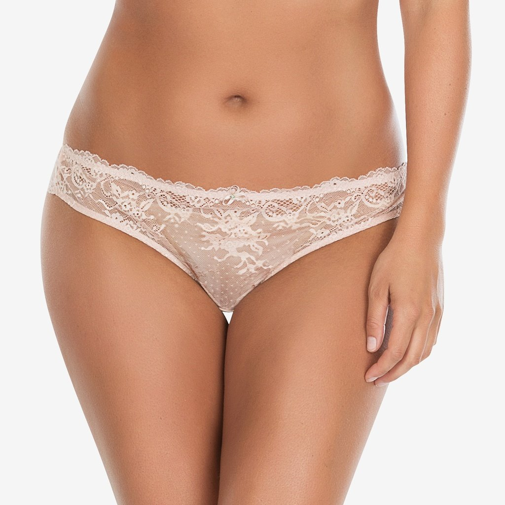 Parfait Sandrine Brazilian Thong in Cameo Rose