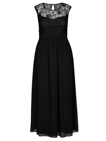 NEW! - Lace Goddess Maxi Dress