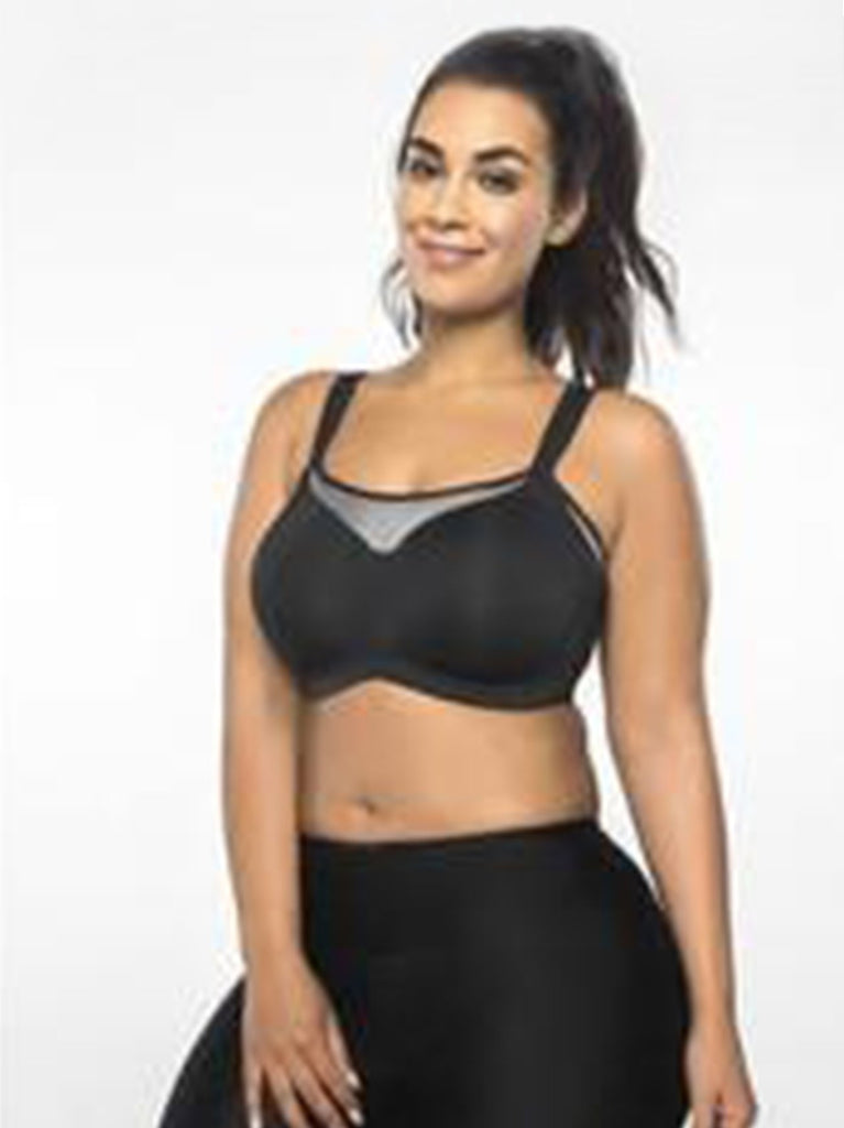 Ultimate Fit Underwire Sports Bra In Black