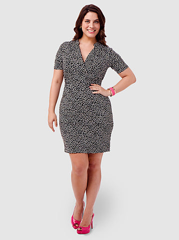 Utility Polka-Dot Dress