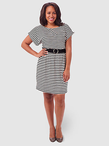 Easy Stripe Dress