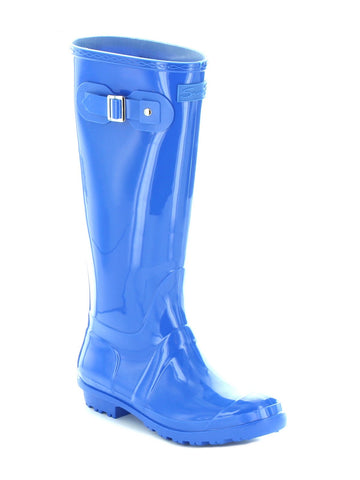 British Girl Rain Boot In Cobalt