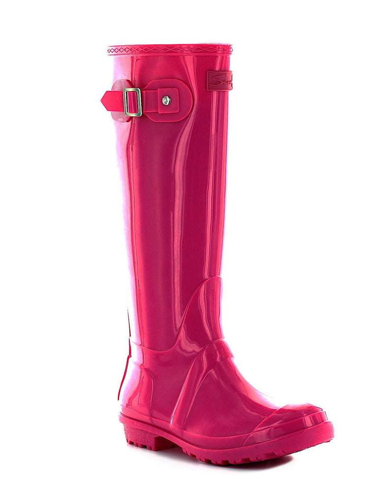 British Girl Rain Boot In Pink