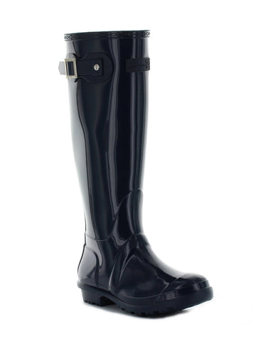British Girl Rain Boot In Navy
