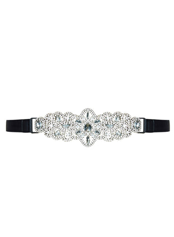 Regal Belt In Silver