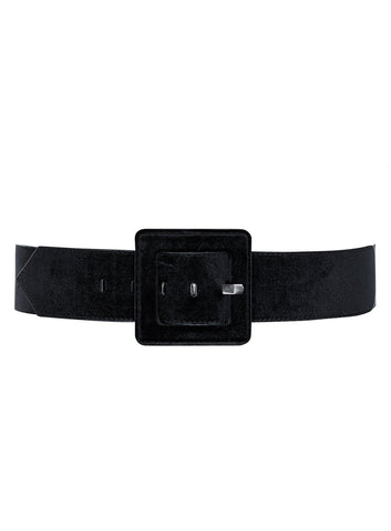 Smooth Velour Belt