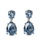 Aquamarine Double Drop Earrings