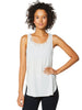 Cut Out Draped Back Tank
