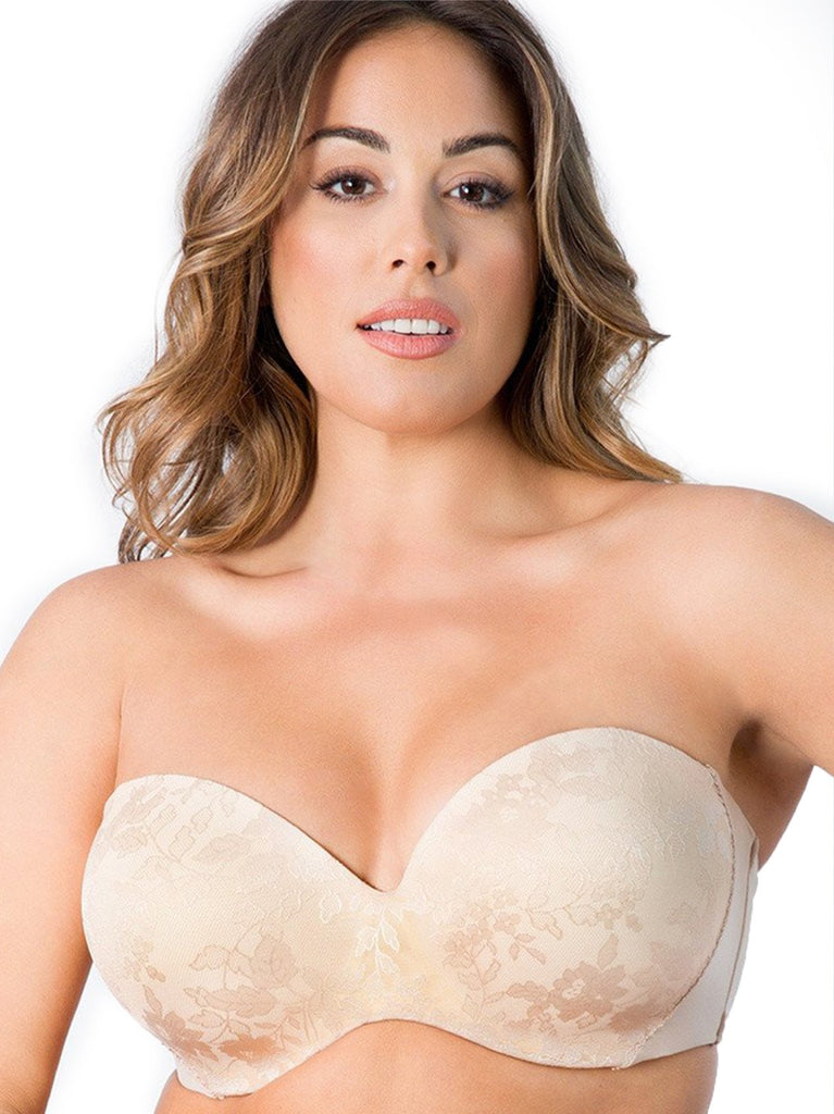 Strapless Sensation Multi-Way Push Up Bra