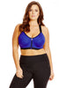 New! - Zip Front Contour Sports Bra