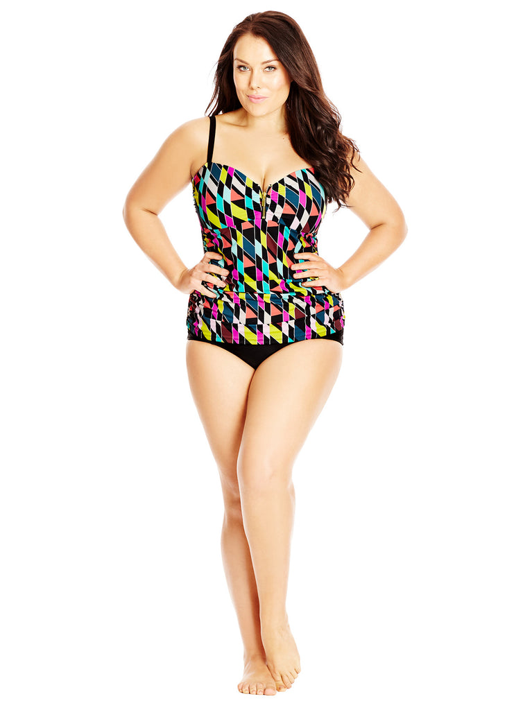 New! - Prismatic Tankini