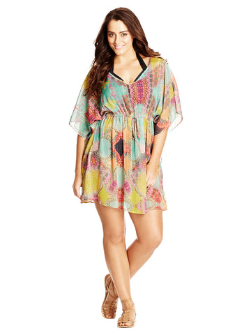 New! - Flower Drum Kaftan
