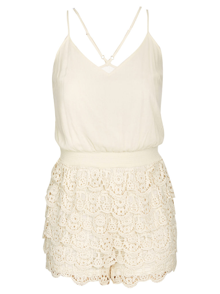 New! - Lace Festival Romper