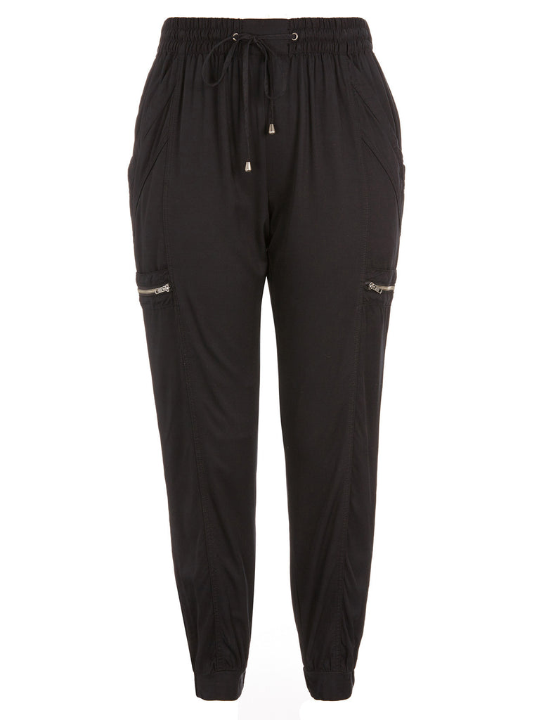 Festival Time Cargo Pants In Black