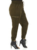 Festival Time Cargo Pants In Olive