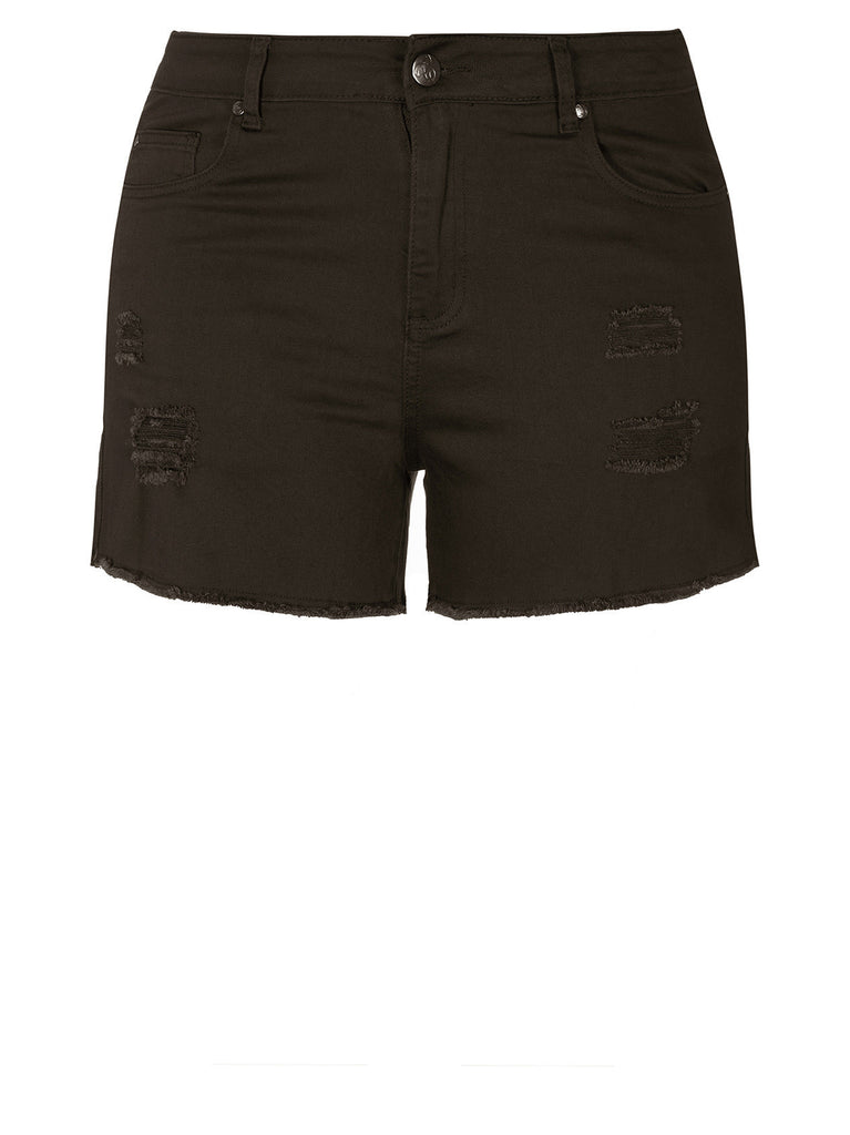 Explorer Short Short In Black